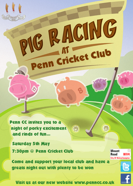 Pig Racing Night