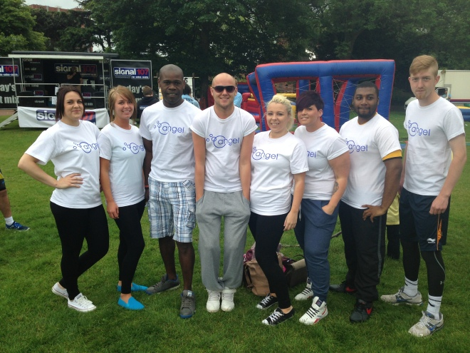 Its a Knockout - team No 'Quits' Allowed