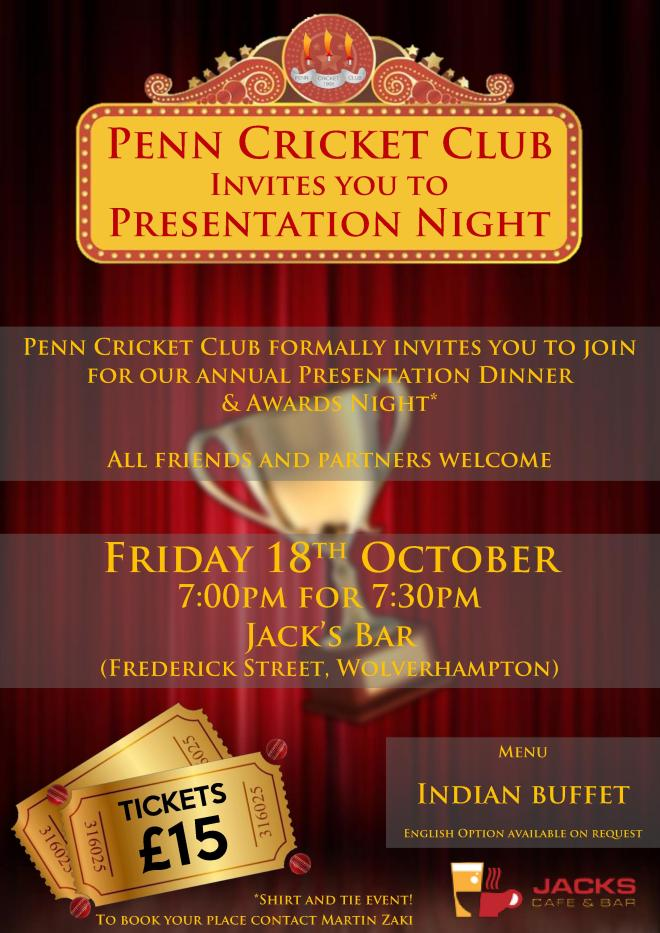 Penn CC Presentation Night