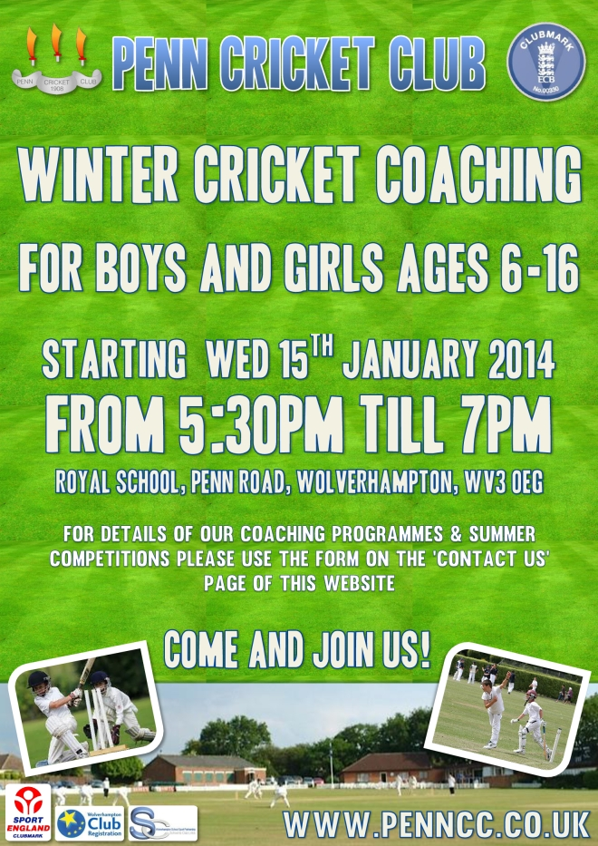 Junior Winter Cricket Coaching