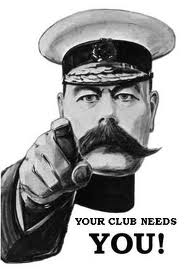 Your Club Needs You