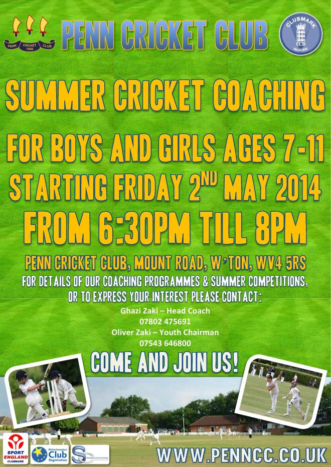 Junior Coaching Summer 14