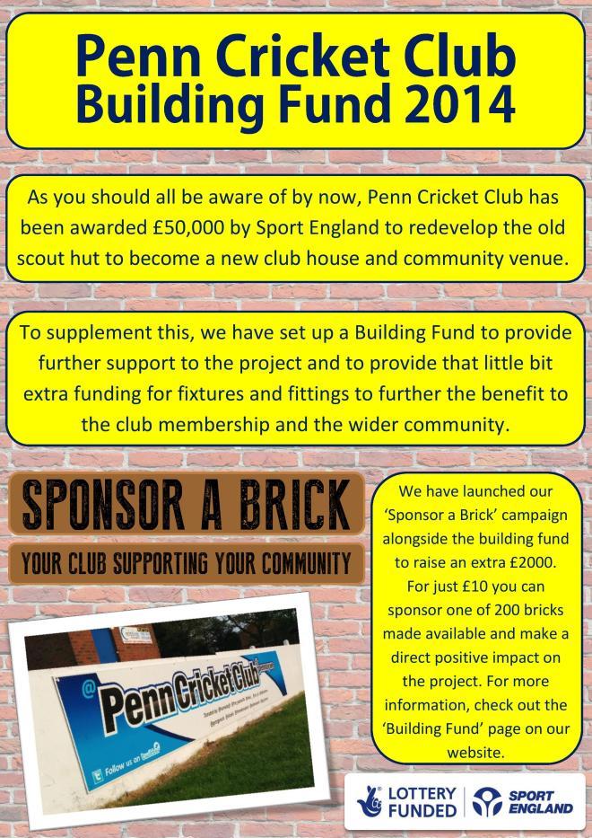 Building Fund Flyer